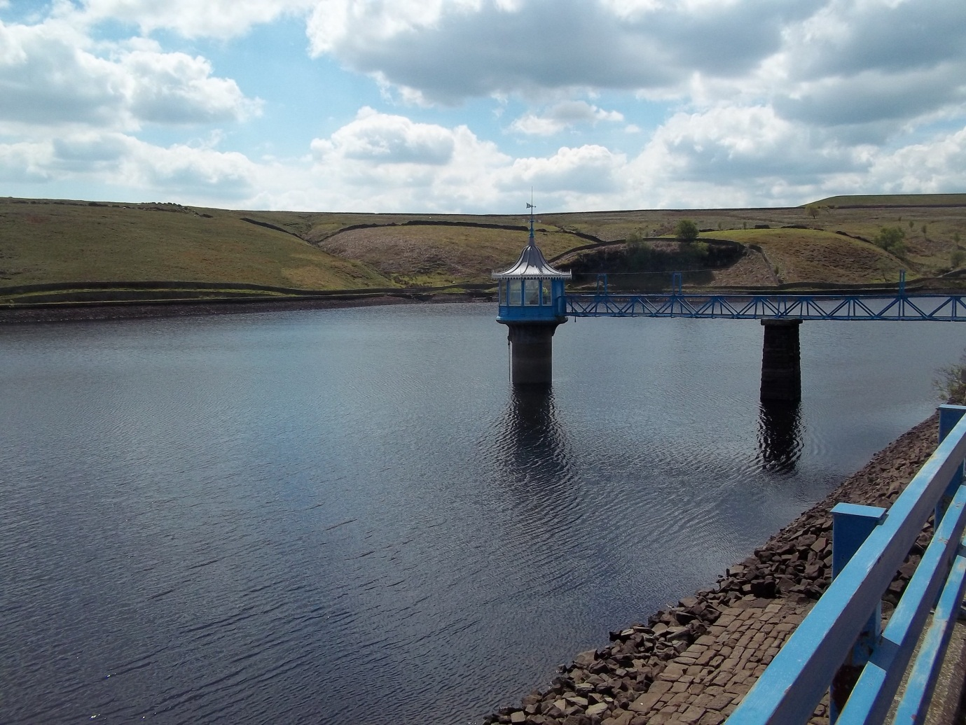 Stubden Reservoir Gets Some Improvements